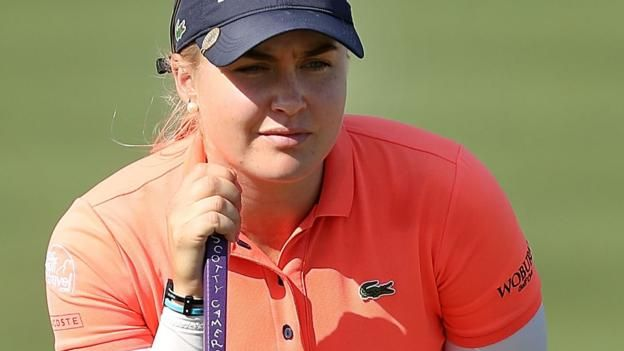 CME Group Tour Championship: England's Charley Hull one stroke off lead #group #championship #england #charley #stroke