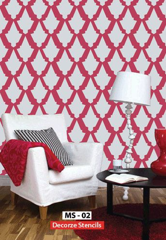 122 best Ideas for the House images on Pinterest Wall stenciling - designs for walls