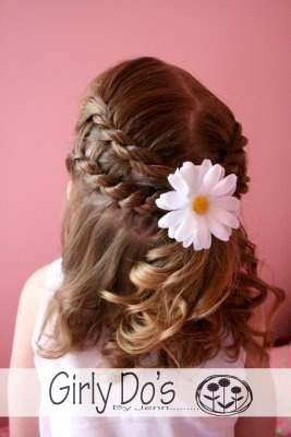 maybe with just one braid and curles. but I love this too