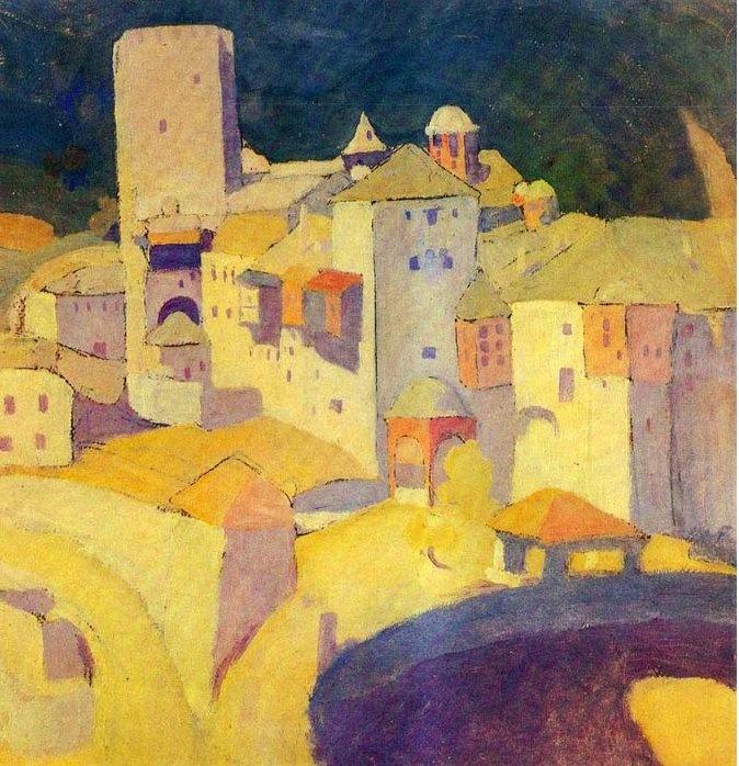 Spyros Papaloukas, Pantokratoros, 1924