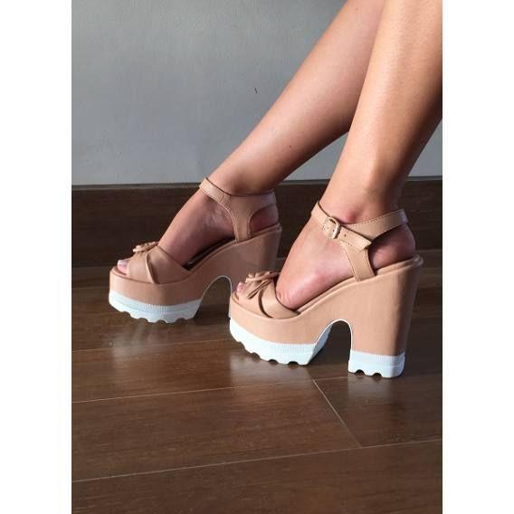 024442bd9cb Salto Tratorado - Sapatos Femininos no Mercado Livre Brasil ...