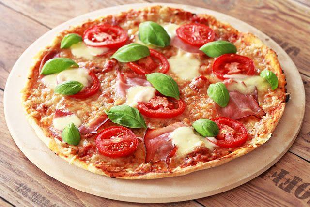 Kuchnia bezglutenowa: Chrupiąca pizza bezglutenowa