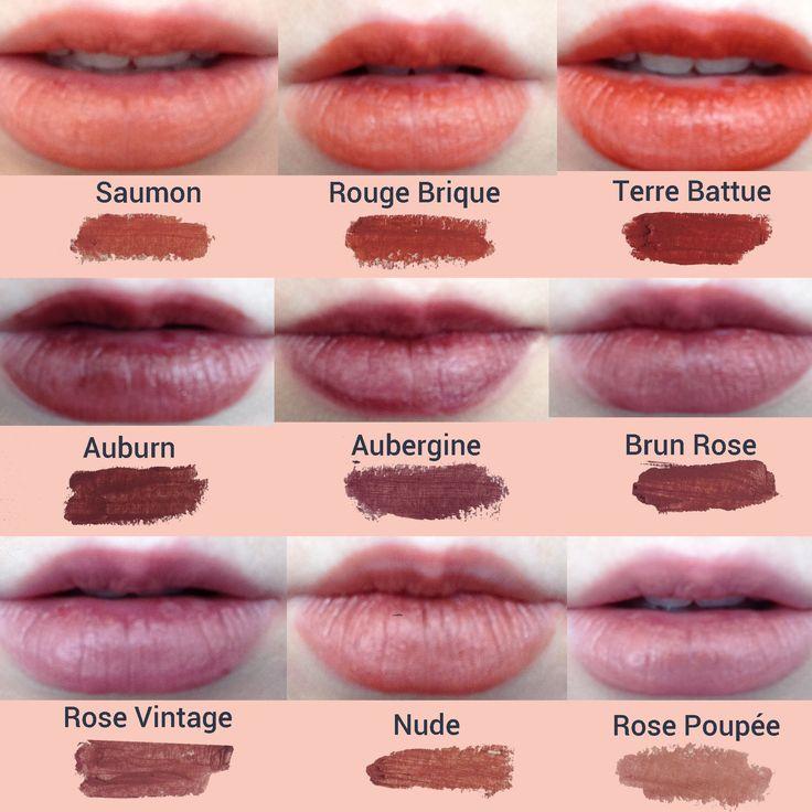 Voici des swatchs des rouges à lèvres certifiés bio Avril disponibles ici: http://www.avril-beaute.fr/53-rouge-a-levres-bio ------100% de leurs ingrédients sont d'origine naturelle, ils sont fabriqués en France et ne sont pas testés sur les animaux.--------- #rougeàlèvres #certifiésbio #bio #lipstick #avril #organic #madeinfrance #bio