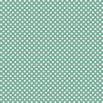 Verona-teal dotsPolka Dots, Verona T Dots, Veronat Dots, Teal Dots