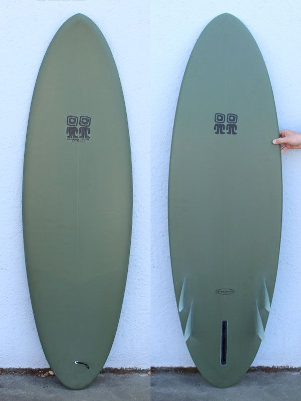 5'8 Campbell Brothers Bonzer Egg