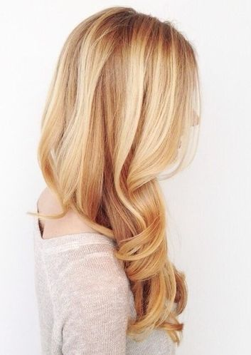 Love the strawberry blonde with blonde highlights. So doing this with my hair.