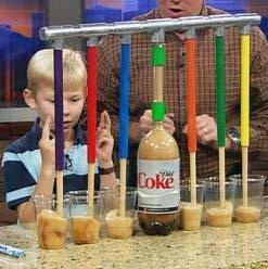 Mentos Soda Pop Drop! Super cool kids science tutorial!