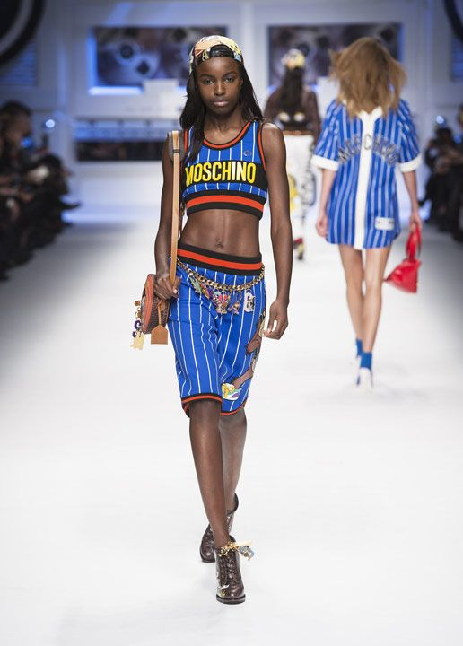 Moschino Fall/Winter 2015/16 fashion show  - See more on www.moschino.com: