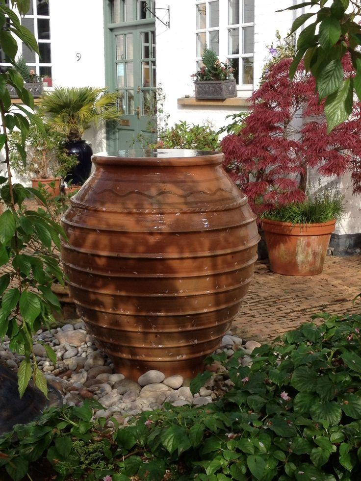 40 best sugar garden images on pinterest dream garden for Pot water feature ideas