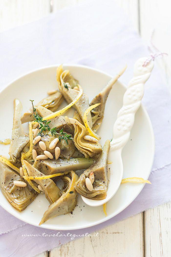 Carciofi caramellati - Ricetta Carciofi carmallati