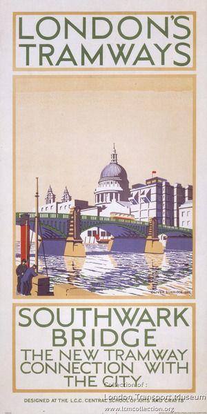 Southwark Bridge ~ Oliver Burridge