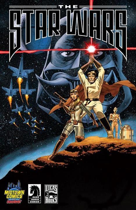 Star Wars: The George Lucas Draft #1 (Midtown Variant Exclusive ) #DarkHorse #StarWars #TheGeorgeLucasDraft