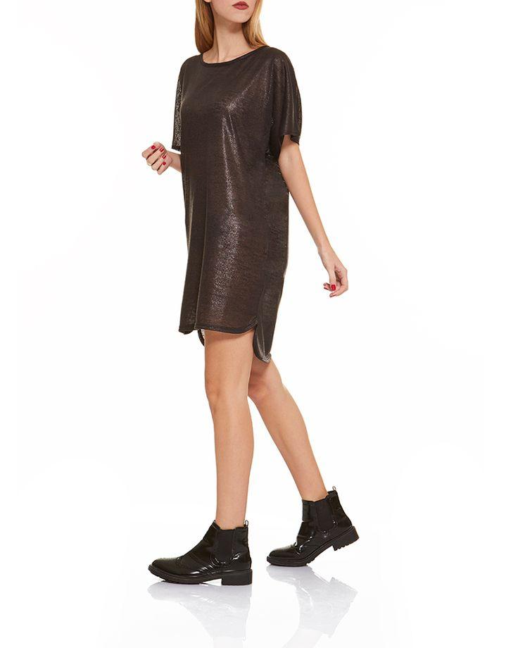 Φόρεμα μεταλλιζέ