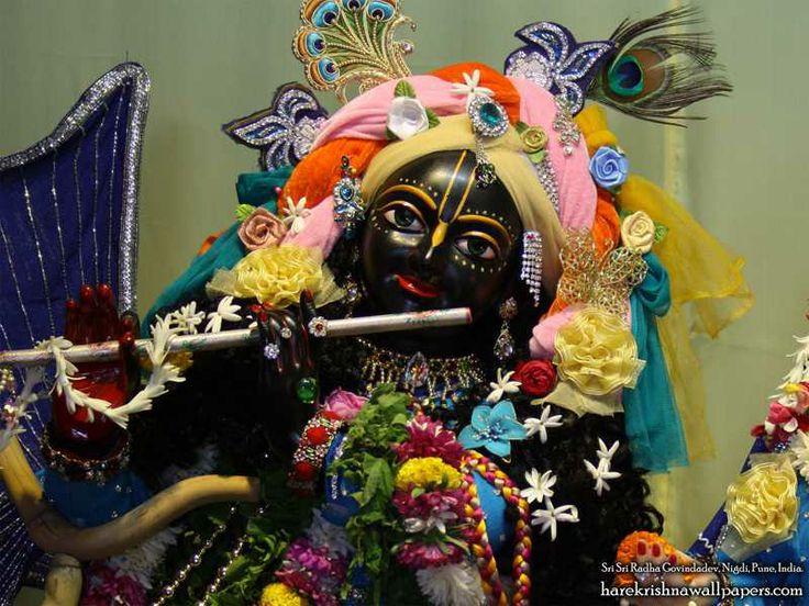 Sri Govind Close up Wallpaper