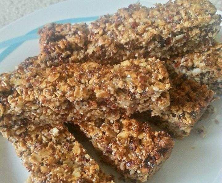 Recipe Fruit & Nut Muesli Bars by myeishamaree - Recipe of category Baking - savoury