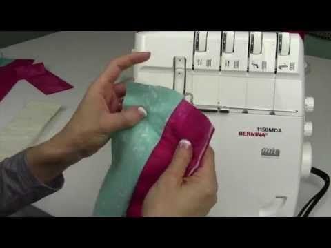 (2) Bernina Serger 1150 33 Quilt as You Go - YouTube