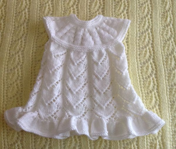 Knitting Patterns For Baby Dresses : Best 20+ Knit baby dress ideas on Pinterest