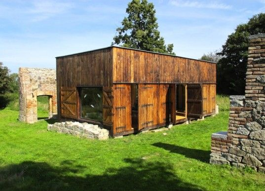Labor 13's Rustic Czech House is Made Entirely out of Recycled Materials | Inhabitat - Sustainable Design Innovation, Eco Architecture, Green Building