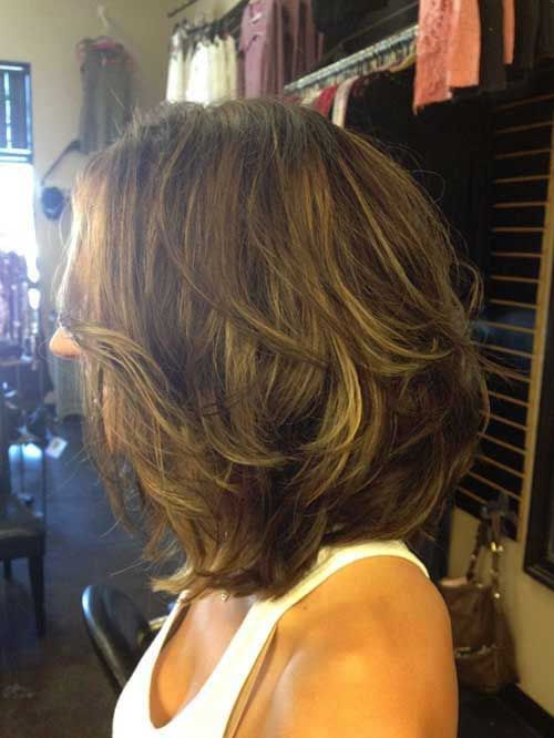 Best Layered Haircuts for Thick Hair 2014