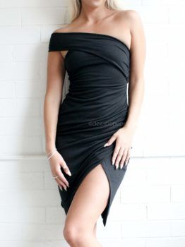 LIVELY DRESS – BLACK