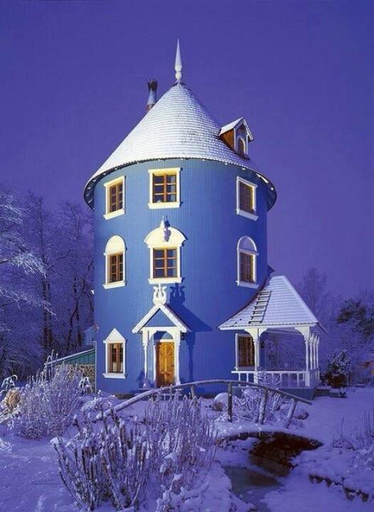 Ahhhhhhh.....I want!!!!!!  Silo house