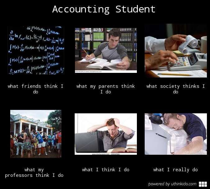 Accounting Student- AHH Sweet Sweet Accounting