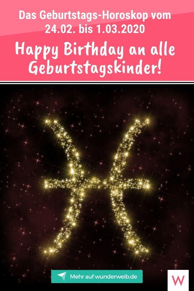 Geburtstags Horoskop Gratulation An Alle Geburtstagskinder In Der