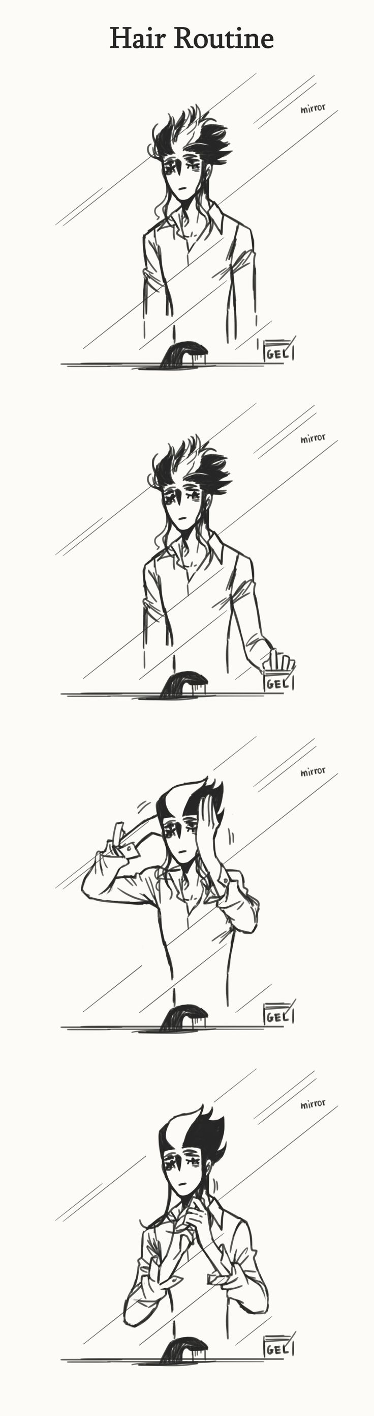 Random Stuff #4 - image a matter od life and death the snipster hair routine 1/2