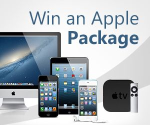 Win an Apple Package worth £3,000