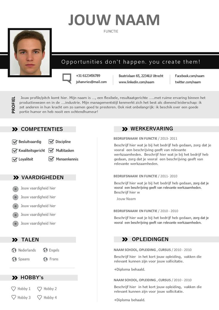 5069 best resume cv lebenslauf images on pinterest