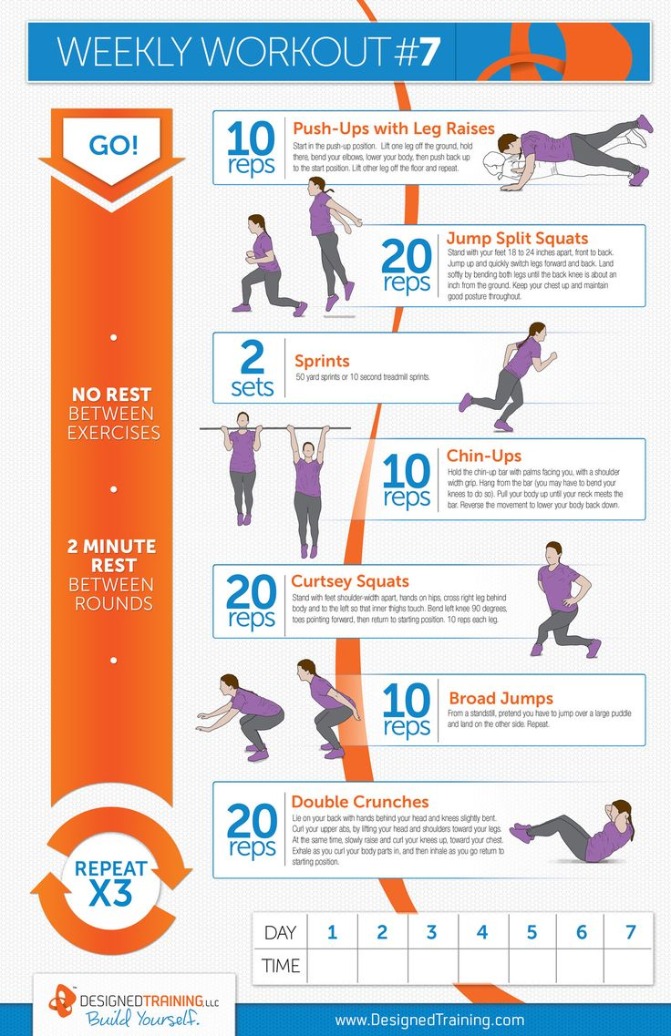 Weekly Workout #7... It's a sweaty one!