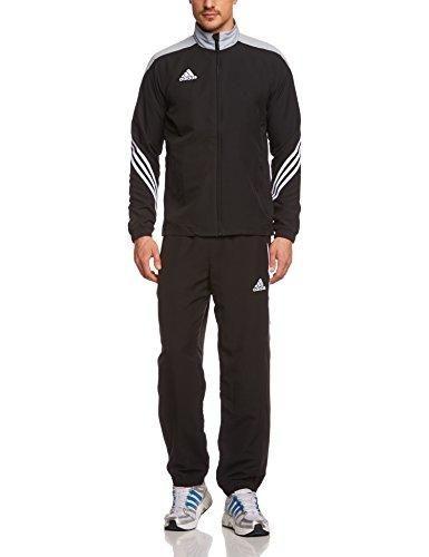 Oferta: 49.00€. Comprar Ofertas de adidas Sere14 PRE Suit - Chándal de fútbol para hombre, color negro/plata/blanco, talla M barato. ¡Mira las ofertas!