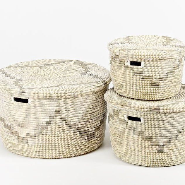 Artisanne Baskets These Gorgeous Award Winning Toy Baskets And Round Storage In The La Maree Design Nab Them Before They Award Winning Toys Toy Basket Basket