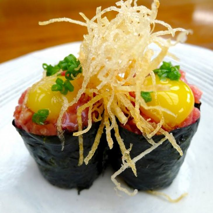 Wagyu Gunkan Sushi Recipe Recipe | Sushi or All Things Raw | Pinterest