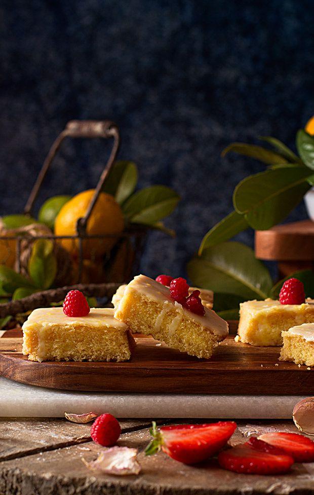 Cómo hacer Brownie de Limón. Receta fácil
