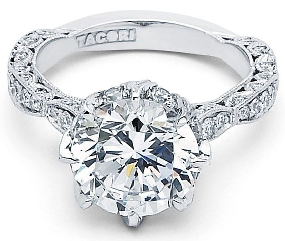 Tacori ring from Royal T collection #tacori #diamonds