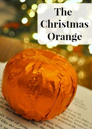 The Christmas Orange - Story and Gift Idea with Free #Printable | Simple Sojourns