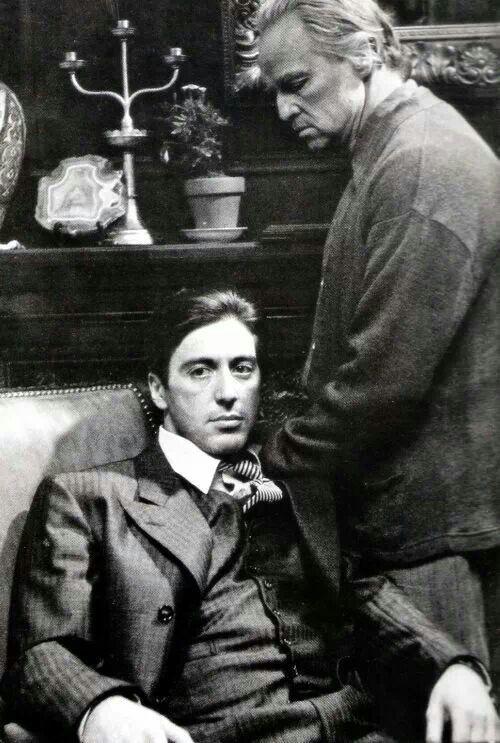 Marlon  Brando - Al Pacino