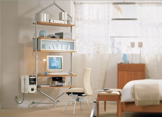 Plushemisphere | Voga Modern Home Office Furniture for Small Space