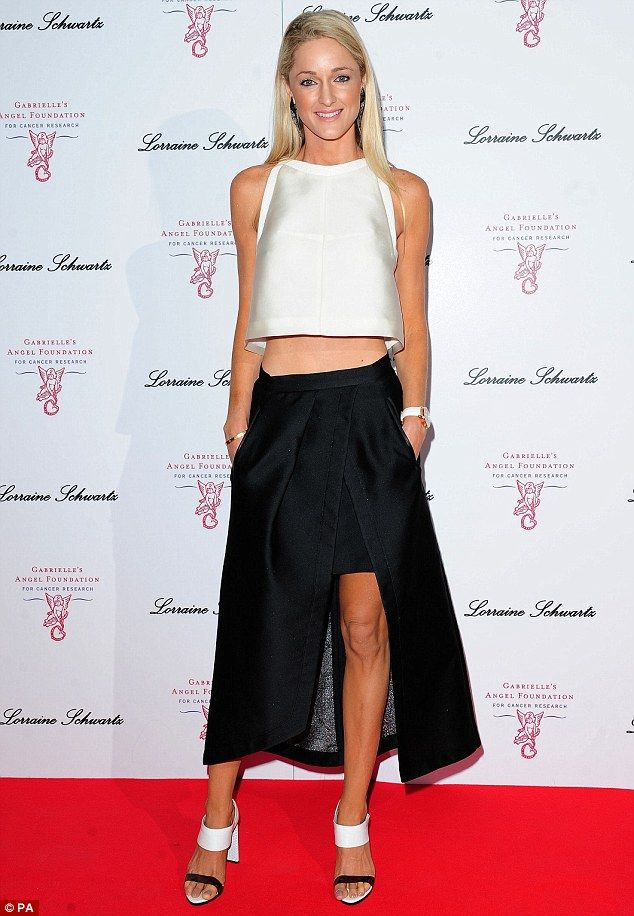 Storm Uechtritz looking stunning wearing Marigold S14.15 head to toe at a charity fundraiser in London