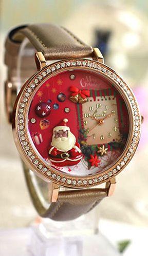 Cute Christmas watch