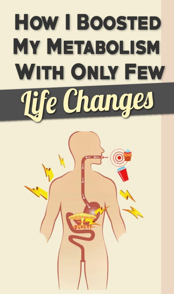 How I Boosted My Metabolism With Only Few Life Changes