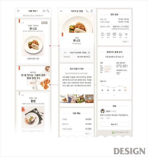 현대카드 마이메뉴2.0   매거진   DESIGN