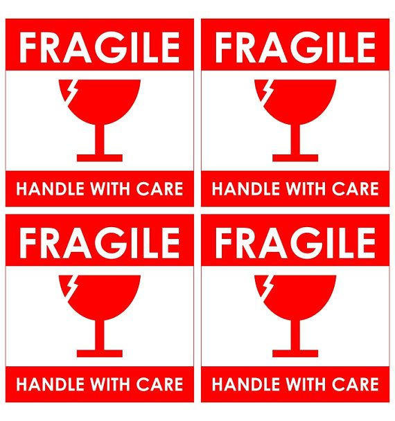 image relating to Fragile Printable named Delicate Labels Printable Cost-free - 0425