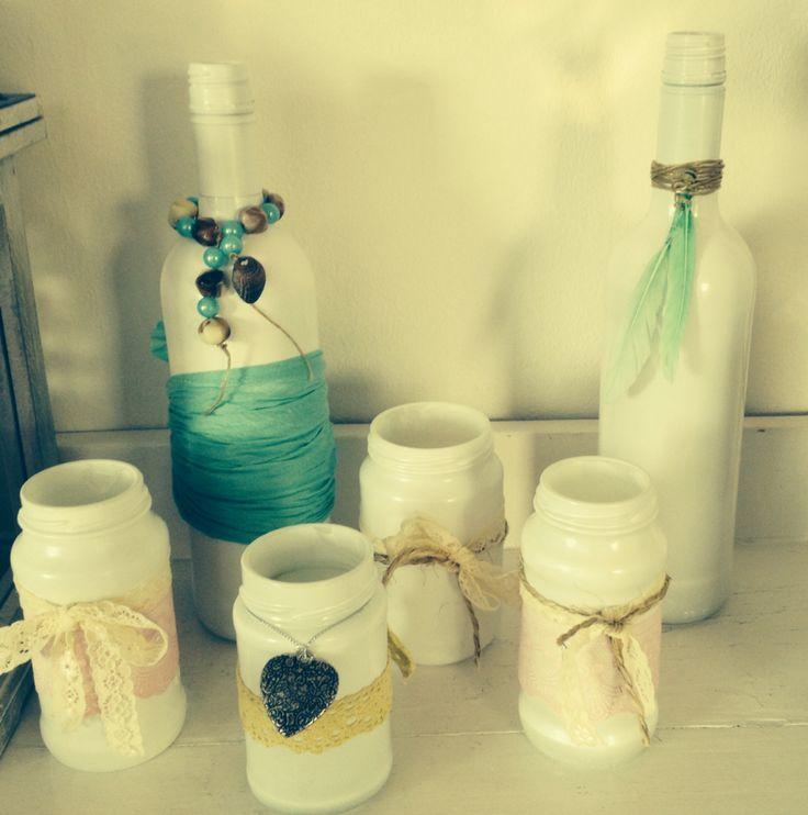 25 beste idee n over wijnflessen versieren op pinterest wijnflessen decoreren wijnfles - Ruimte van het meisje verf idee ...