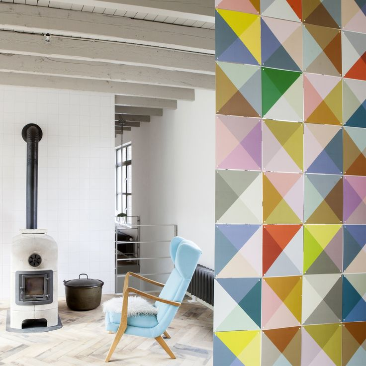 Divide your room with Ixxi panels - Loco color - Ixxi #roomdivision #design