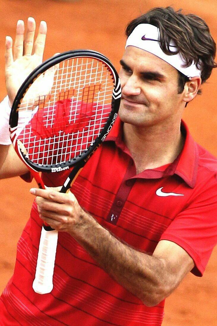 Twitter / fulik8 Roger Federer