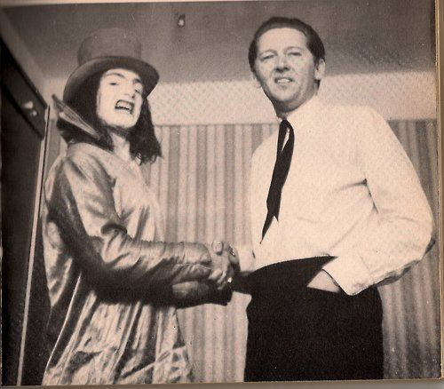Screaming Lord Sutch and Jerry Lee Lewis