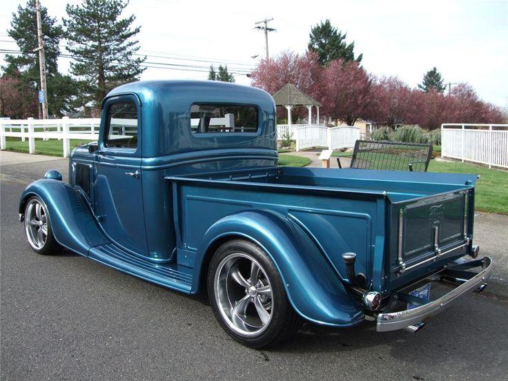 1936 FORD CUSTOM PICKUP - Barrett-Jackson Auction Company ...