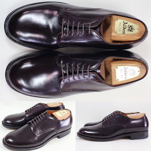 2017/11/11 22:53:41 shoesaholic1 ALDEN CORDOVAN PLANE TOE. * コードバン プレーントゥでもレアなミリタリーラストのモデルです😁 * おかげさまで良い靴が沢山入荷していますが、掲載が全く追いついておりません😭是非、ちょくちょくストアをご覧になってみて下さい‼️ * ITEM ID : 505 * #alden  #cordovan  #コードバン  #シューホリック #shoes #Mensshoes #shoepolish #boots  #Mensfashion #bespoke #tailar #stylish #fashiongram #instastyle #lookbook #luxury #gentleman #styleforum #ootd #高級靴 #靴磨き #足元くら部 #足元倶楽部  #高級 #オールデン #パラブーツ #ジョンロブ #エドワードグリーン  #クロケットアンドジョーンズ